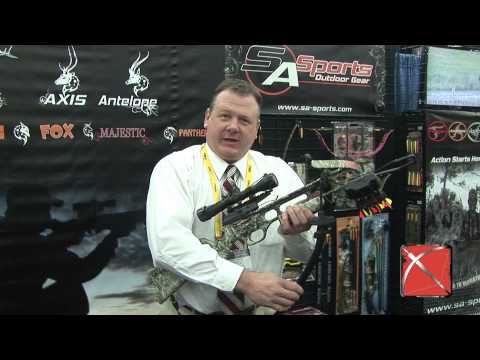 SA Sports Fever Crossbow Review at the 2013 ATA Show