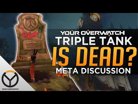 Overwatch: The Death of Triple Tank - Meta Discussion