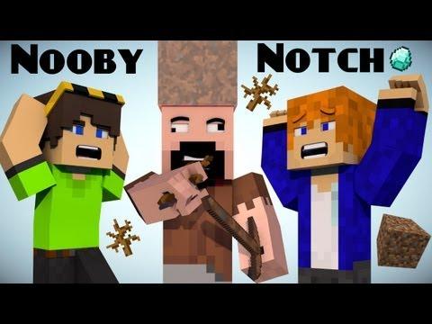 If Notch was a Noob Minecraft
