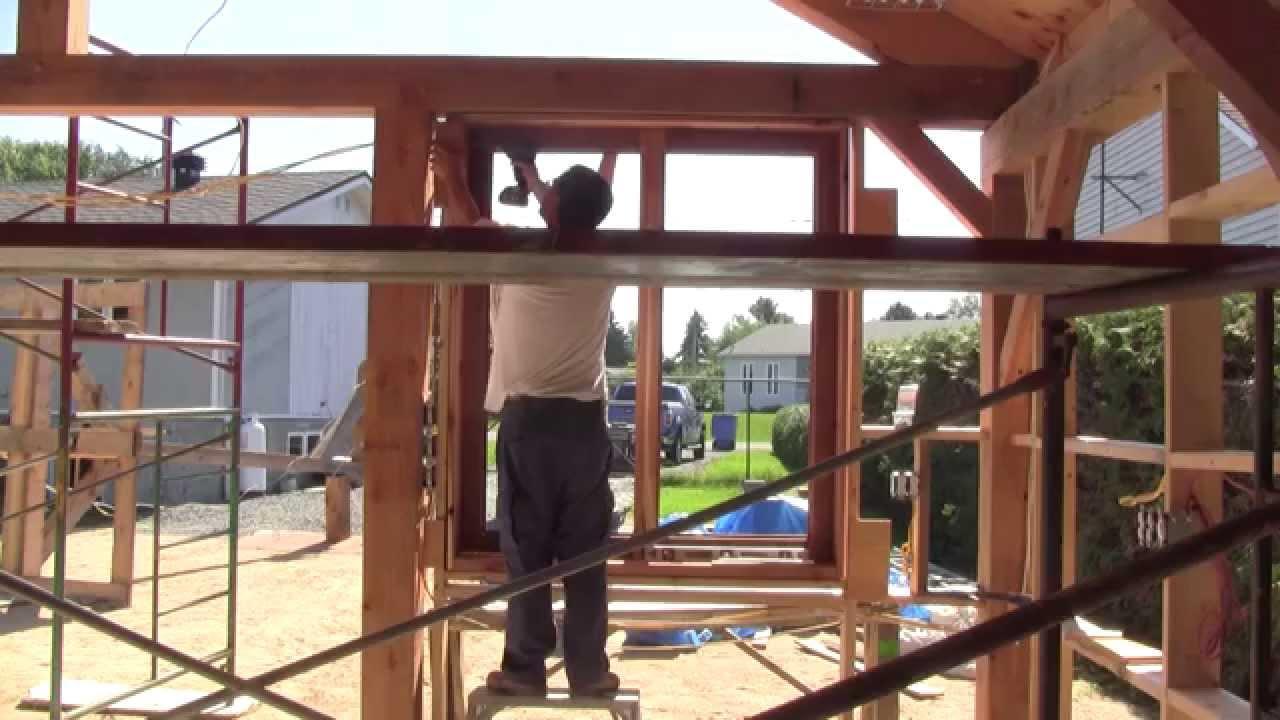 L 39 gosseux d 39 bois ep 63 la construction de mon nouvel for Fenetre vaillancourt