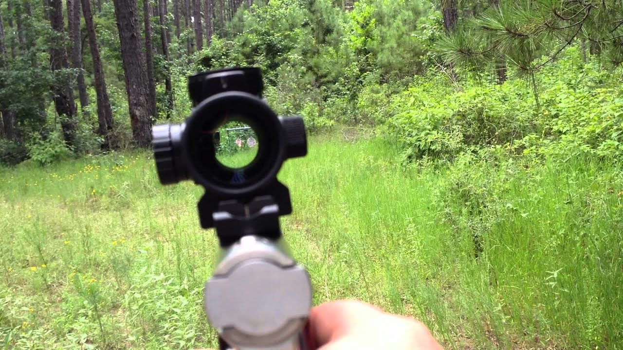 Millet Red Dot Pistol With Red Dot Optics