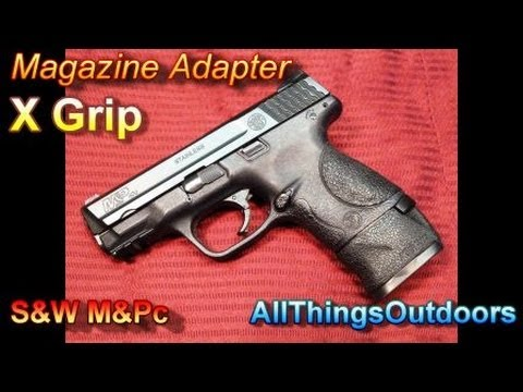Review: X-Grip Magazine Adapter for S&W M&P40c
