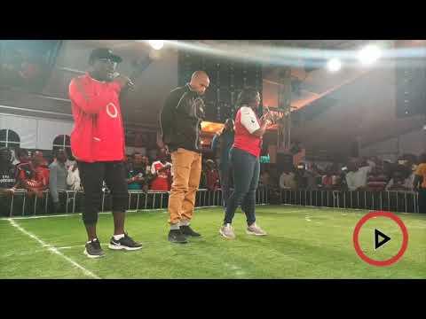 Arsenal legend Thierry Henry meets Kenyan football fans
