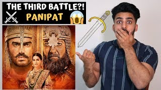 Panipat Official Trailer | Sanjay Dutt, Arjun Kapoor, Kriti Sanon | REACTION/REVIEW