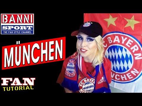 "BAYERN  Fan Tutorial ""Banni Sport"" German Soccer League Munich"