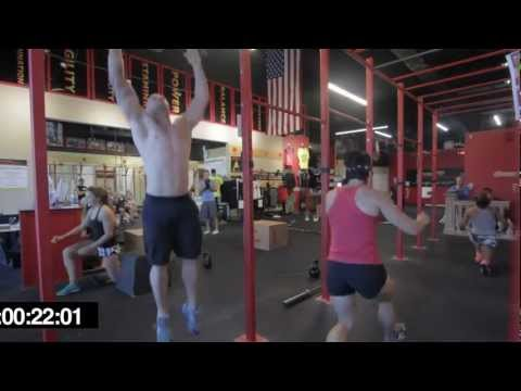 CrossFit - WOD 120827  Demo with Chris Spealler