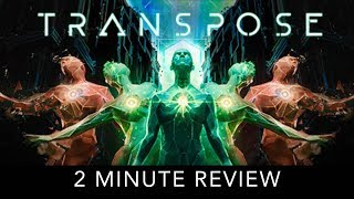 Transpose - 2 Minute Review