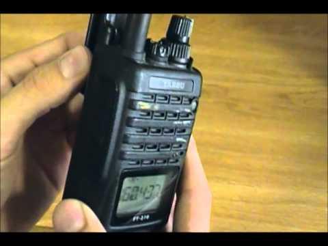 Yaesu VHF FT-270R Quick Review