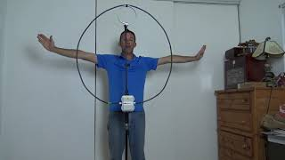 HF Magnetic Loop Antenna, CHA P-Loop 2.0, Ham Radio POTA SOTA