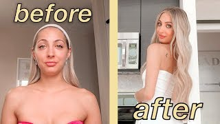 GLOW UP TRANSFORMATION | literally every beauty treatment