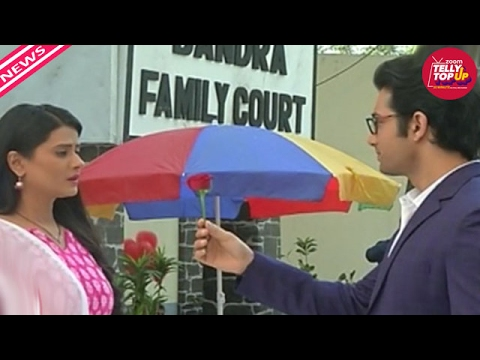 Rishi Gives Rose To Tanuja On Valentine In 'Kasam Tere Pyar Ki' | #TellyTopUp