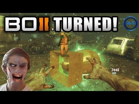 """TURNED"" Zombies LIVE w/ Ali-A - Black Ops 2 Revolution Gameplay - NEW COD BO2 DLC"