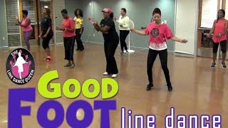 Good Foot Pokey Bear Line Dance In Class
