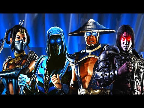 Injustice 2 - All Mortal Kombat Dialogue/References