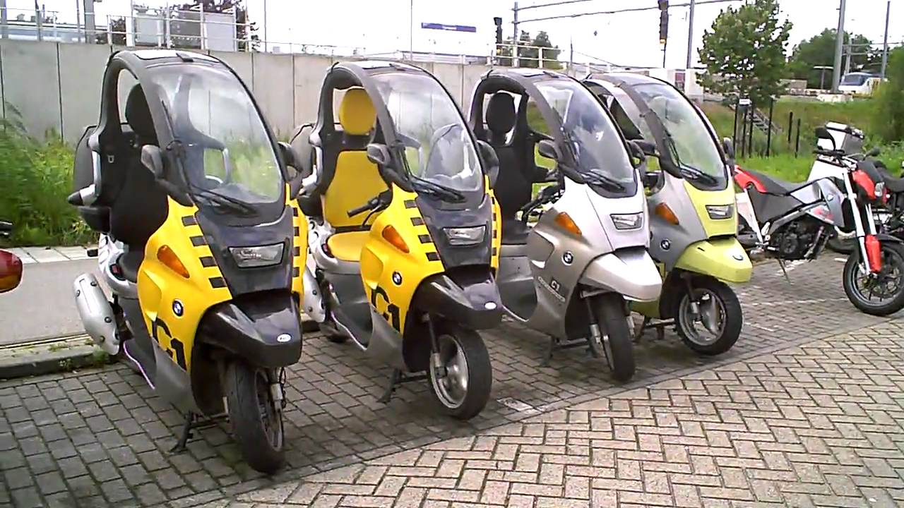 Bmw C1 125 200 Cc Scooter Youtube