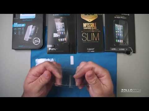 iPhone 5 Glass Screen Protector Comparison