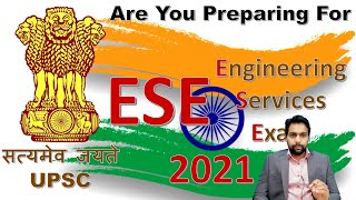 UPSC ESE 2021 Preparation Detailed Strategy by IES Naveen Yadav (GATE AIR 16, UPSC ESE AIR 61)