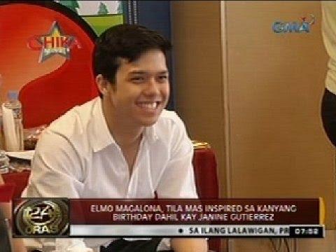 Elmo Magalona, tila mas inspired sa kanyang birthday dahil kay Janine Gutierrez