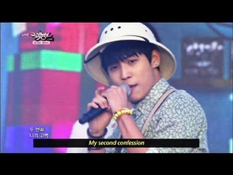 BTOB - Second Confession (2013.05.25) [Music Bank w/ Eng Lyrics]