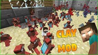 Minecraft Mod - KENDİ ORDUMUZU YAPTIK (Clay Mod)