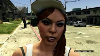 Grand Theft Auto female vagos gang ryona (made in editor )
