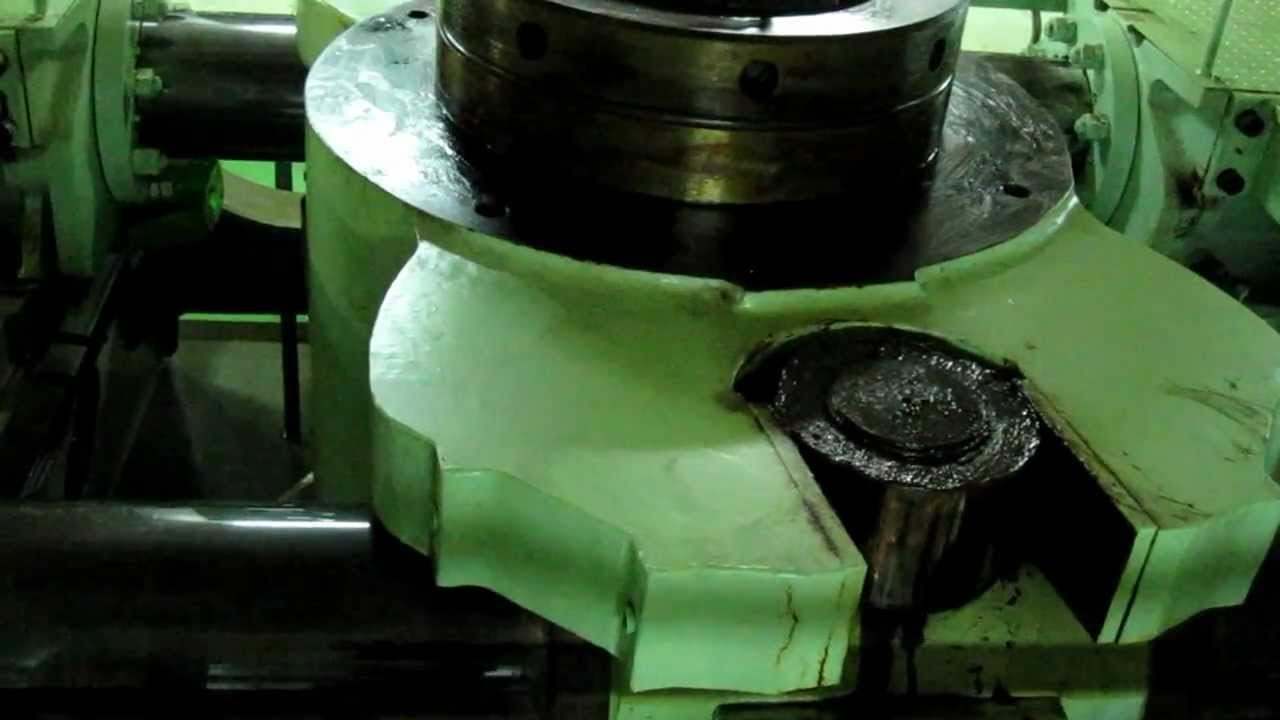 Steering Gear Of Container Ship Youtube