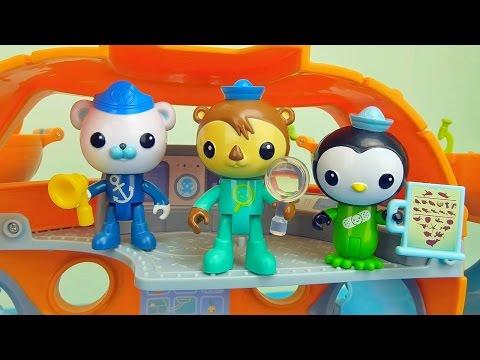 Октонавты игрушки - Собираем каюты Пейзо и Шеллингтона. Octonauts Peso and Shellington for children
