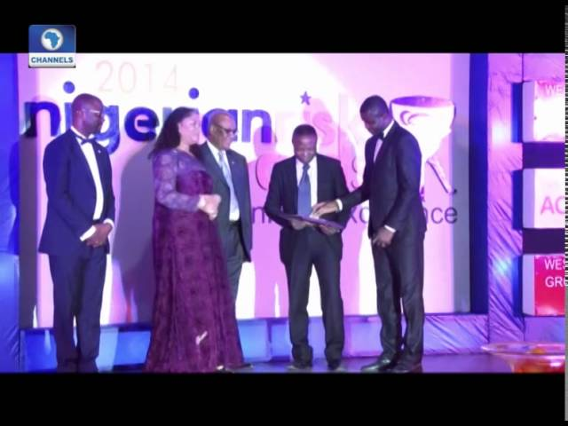 Metrofile: ChannelsTV Bags Excellence Award At 2014 Nigerian Risk Awards