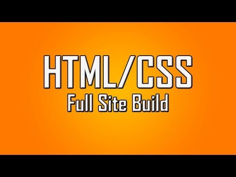 Learn HTML CSS #19 Build a Full HTML Site Layout