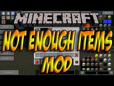 Minecraft 1.8 - Como Instalar NEI (Not Enough Items) MOD - ESPAÑOL [HD] 1080p Spotlight