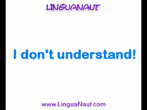 Learn Hindi - Most Used Expressions