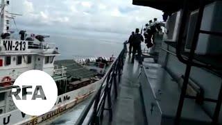 Tàu Kiểm ngư Việt húc tàu Hải quân Indonesia giải cứu 2 ngư dân