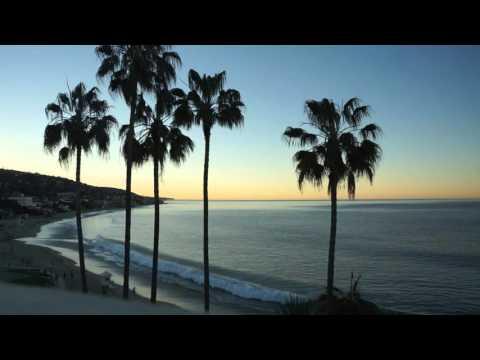 Laguna Beach California USA Sunrise 17min long