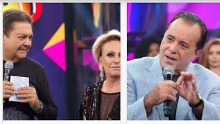 Tony Ramos defende Bolsonaro no Faustão, e recebe apoio de internautas