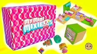 Box of My Mini MixieQ's + Shopkins Season 6 Chef Club Surprises + Apartment Playset