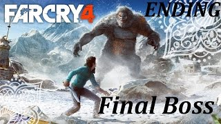Far Cry 4 Valley of the Yetis Final Boss ENDING / FINAL MISSION PS4 XBOX PC  1080p Maximum Settings