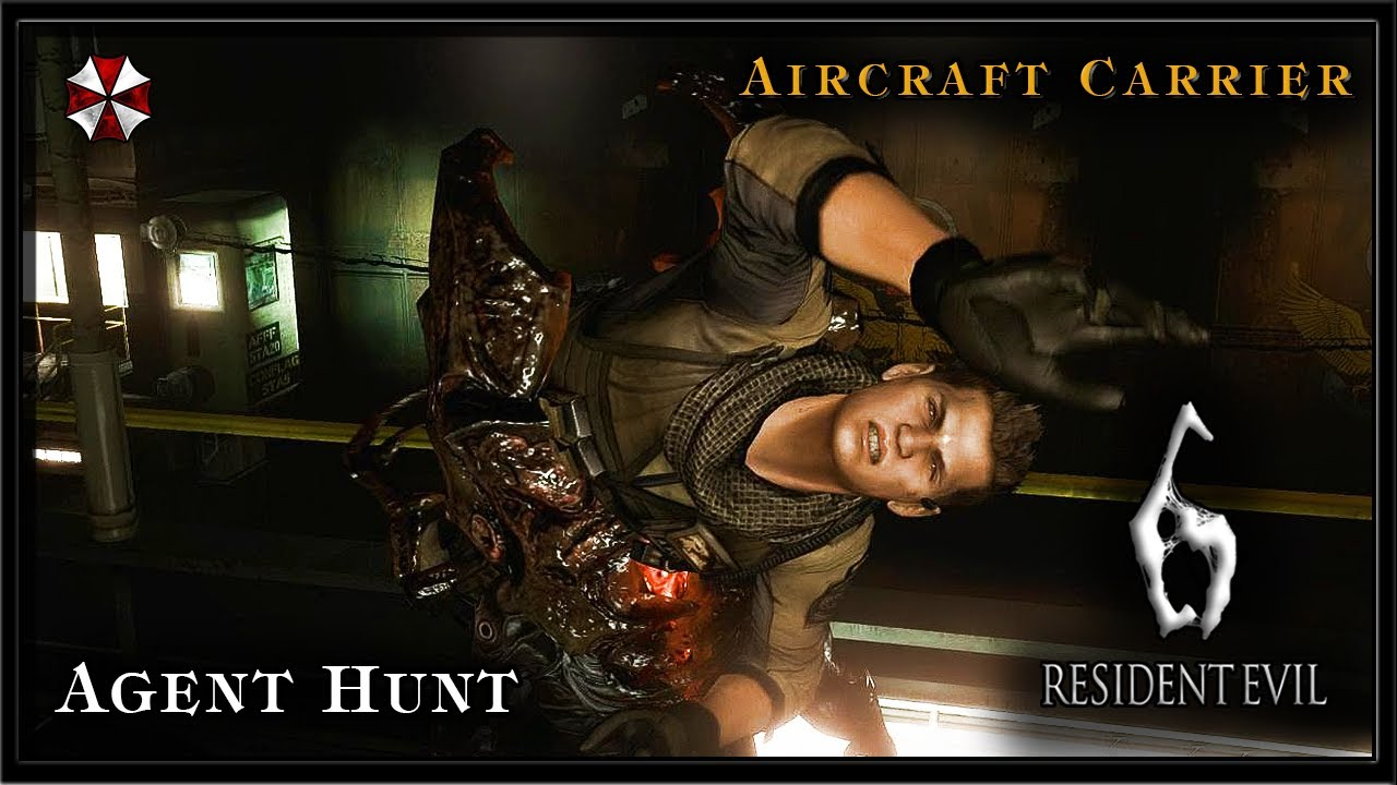 Agent Hunt Gameplay Re6 pc Gameplay Agent Hunt