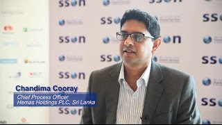 Interview with Chandima Cooray, Chief Process Officer, Hemas Holdings - SSOW Asia 2015