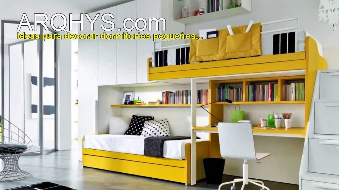 Ideas para decorar mejor un cuarto bien peque o for Ideas para decorar un dormitorio