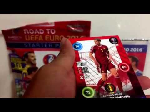 PACK LUCK!!! COMPLETE BOOSTER BOX OPENING EURO 2016 INDIA PREMIERE #1/7