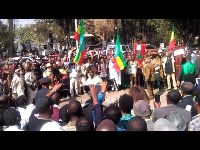Ethiopia:General Jagama Kelo funeral ceremony by shelela and kererta very amazing