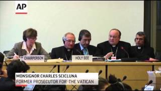 catholic church,  Church Criticized for Child Abuse at UN Hearing  1/16/14
