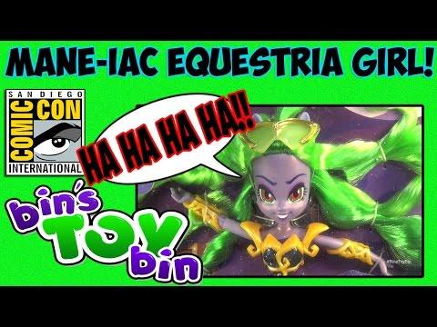 My Little Pony MANE-IAC MAYHEM Equestria Girl Power Ponies Doll! Review by Bin's Toy Bin