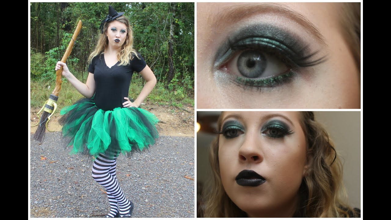 Halloween Hannah Wicked Witch Costume Makeup