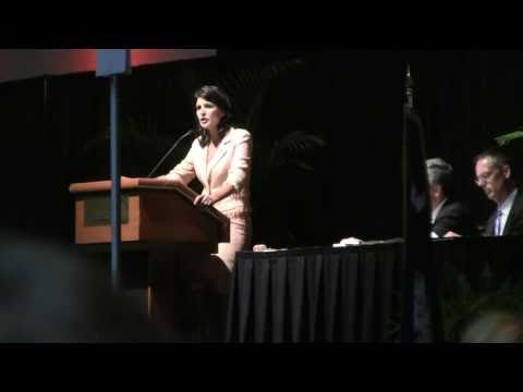 Governor Nikki Haley Talks Tea Party @ SCGOP State Convention