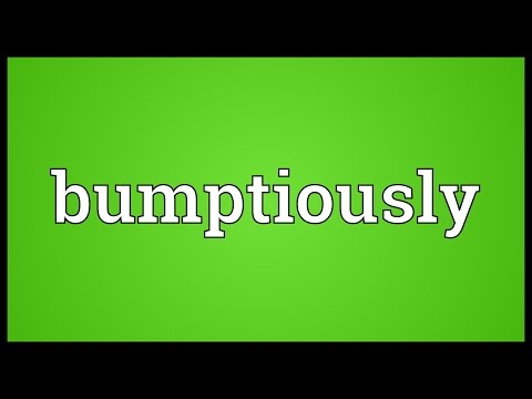Header of bumptiously