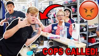 "PLAYING ""MY TYPE"" ON THE WALMART INTERCOM! *KICKED OUT*"