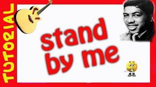 Explicacion de como tocar Stand by me en guitarra Tutorial