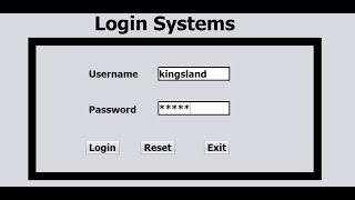 Java NetBeans Login Systems  Tutorial