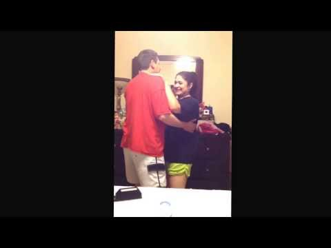 Sophie And Peter Practicing For Father Daughter Dance...lol video